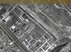 old San Carlos Airport behind Home Depot 1948