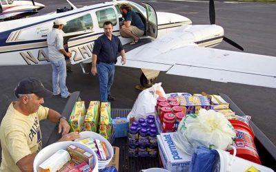 Disaster Airlift Response Team at San Carlos Airport