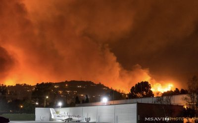 Community Airports Help Attack CA Wildfires
